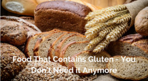 Food that contains gluten